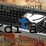 LwDITA Code Samples